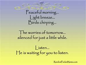 Be Still Quotes... Chirp Quotes