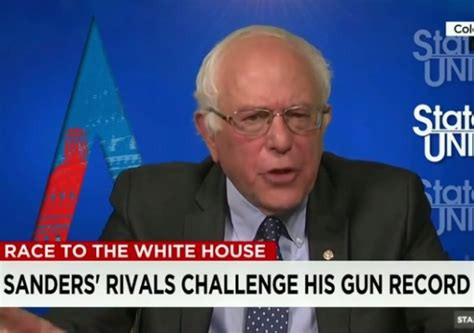 bernie sanders gun control issue  progressives cnn