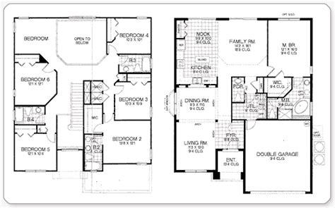 7 Bedroom Homes by 7 Bedroom House Floor Plans