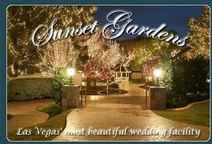 sunset gardens las vegas i will get married pinterest With las vegas sunset weddings