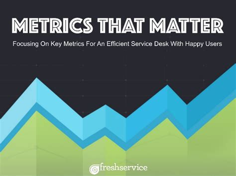 metrics  matter focusing  key metrics