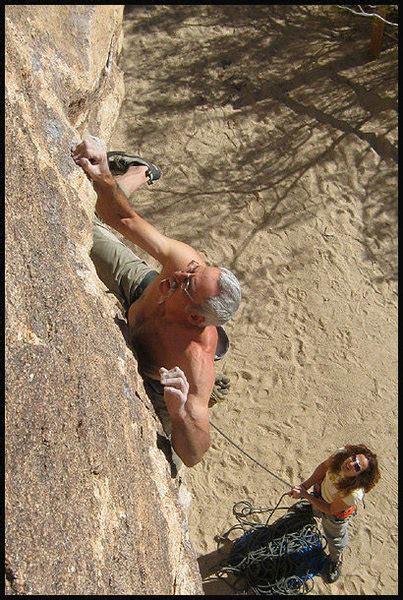 Rock Climb Silent Scream Aka Shock The Monkey Joshua