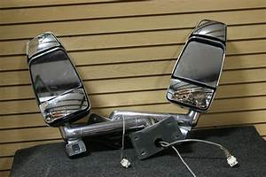 Rv Accessories 2 Piece Velvac 3 Tier Chrome Rv Heated Rv Mirrors W   Intec Cameras Rv Exterior