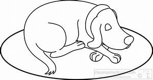 Sleeping Dog Clipart - Clipart Suggest
