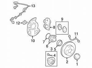 2011 Toyota Front Wheel Bearing  Wheel Bearing  Ride