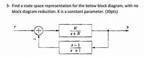 Solved  Find A State Space Representation For The Below Bl