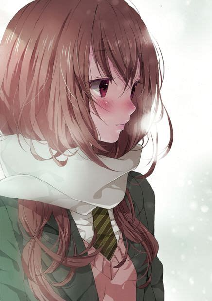 foto de 30 best Anime girl brown hair and glasses images on