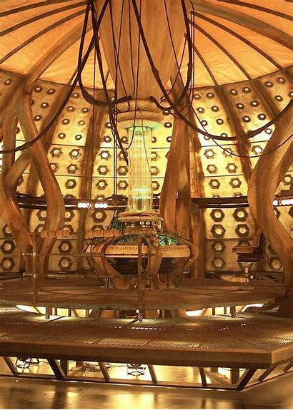 Tardis Doctor Interior Doctors 10th Tenth Console