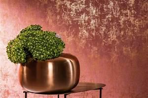 Wand Metallic Effekt : effekte mit tapeten verschiedene ideen ~ Michelbontemps.com Haus und Dekorationen