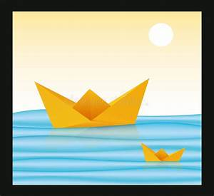 Origami Bateau à Voile : bateau de papier origami illustration de vecteur ~ Dode.kayakingforconservation.com Idées de Décoration