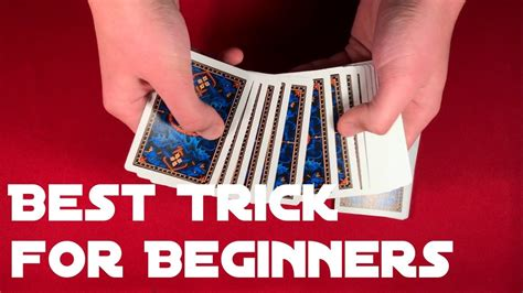 After you have mastered these. Easiest Card Trick for Beginners! - YouTube