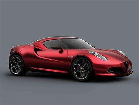Alfa Romeo 4C : Alfa Romeo 4c Concept Redefines