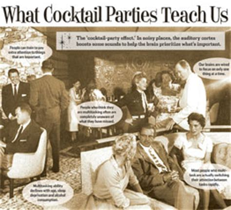 What Cocktail Parties Teach Us Wsj