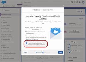 Salesforce Verification Email