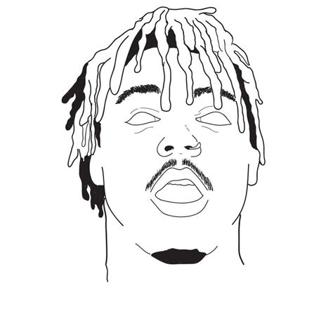 juice wrld art drawings rapper art