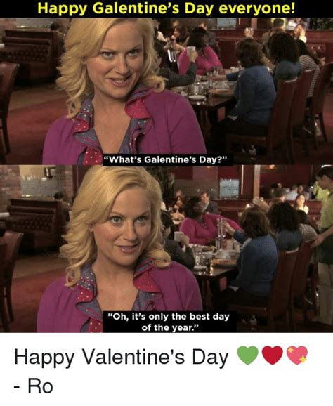 Galentine's Day Leslie Knope Meme