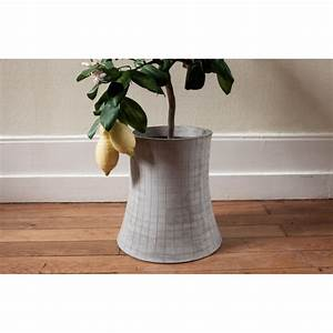 Cache Pot Interieur : cache pot d 39 int rieur en b ton nucl ar plant l by ~ Premium-room.com Idées de Décoration