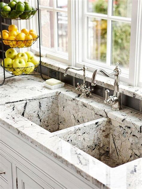 marble kitchen sinks 11 kitchen sinks that are far from normal apartment geeks 4017