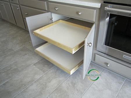 Roll Out Shelves For Kitchen Cabinets by Pull Out Shelf For Kitchen Cabinets 26 36 Wide