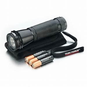 Shop Utilitech 65-Lumen LED Handheld Battery Flashlight at