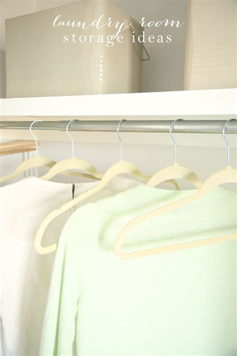 laundry room storage solutions