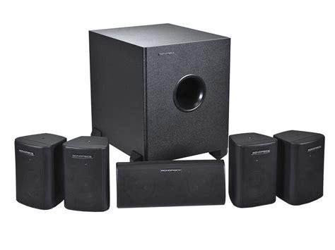 5 1 surround system 5 1 speaker home theater surround sound system 5 satellite speakers 1 subwoofer ebay