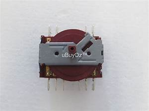 Ilve Oven Function Selector Switch A  034  08 Genuine