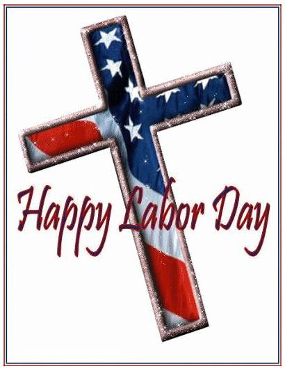 Labor Greetings Wishes Happy Labour Cross Christian