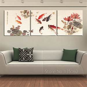 Piece wall art picture traditional chinese calligraphy