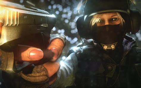 definition of siege wallpaper rainbow six siege iq gun mask hd