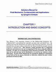 Solution Manual - Fluid Mechanics
