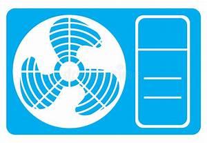 Air Conditioner Icon Stock Vector