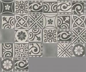 carreaux de ciment les patchworks carreau pw 25 With carreaux 10x10