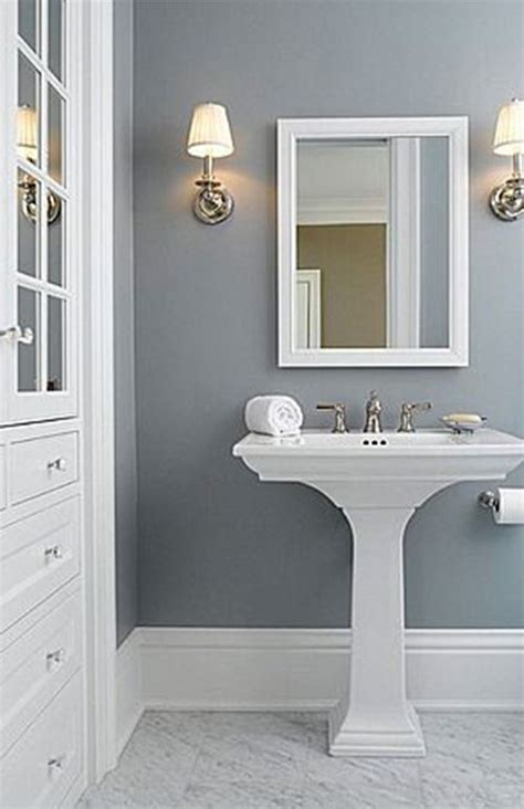 Permalink to Soft Blue Color For Bathroom