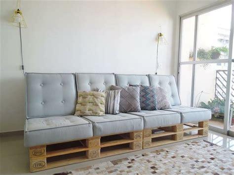 fabriquer canapé comment fabriquer un canapé en palette tuto et 60