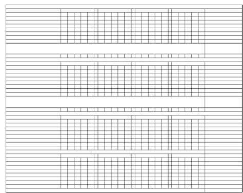 sample hand  foot score sheet