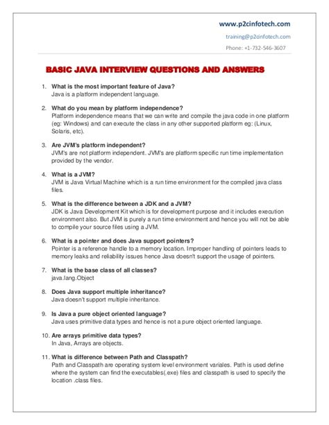 interview for hr position questions and answers basic java important interview questions and answers to