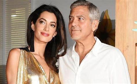 George Clooney Y Su Mujer Amal Ya Son Padres De Mellizos