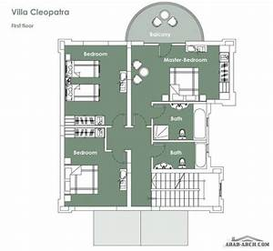 villa cleopatra living area250 m2 on two floors arab arch With 601 e kennedy blvd 14th floor