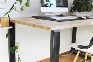 Schreibtisch Selbst Bauen : schreibtisch selber bauen anleitung bonny und kleid ~ A.2002-acura-tl-radio.info Haus und Dekorationen