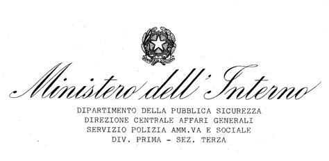 Ministero Delle Interno by Ctg Il Girasole Gruppo Turistico Giovanile