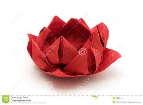 lotus origami stock photo image of origami isolated 16064114