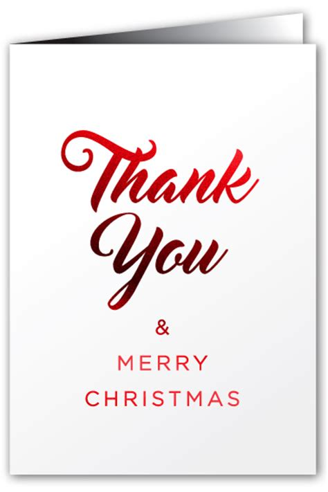 greeting cards thank you merry greeting card fancy