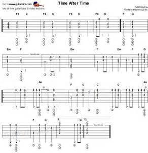 Acoustic Guitar Chord Tab