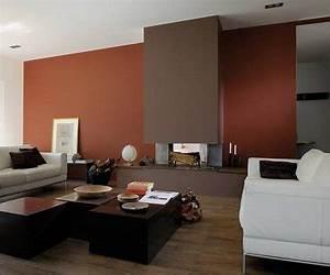 peinture salon 25 couleurs tendance pour repeindre le salon With couleur chaleureuse pour salon