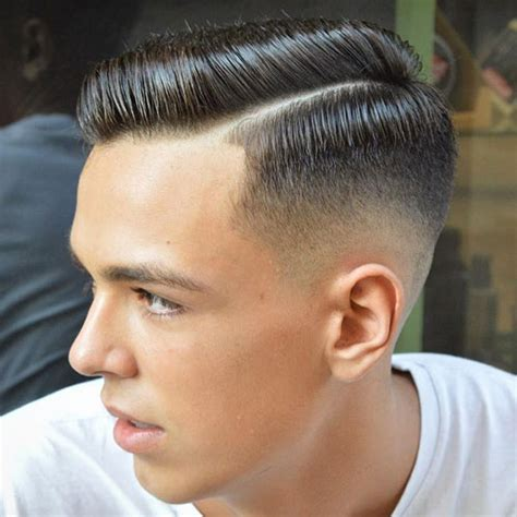 side part haircut  classic gentlemans hairstyle