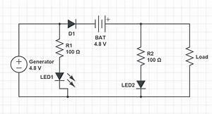Battery Generator Diagram