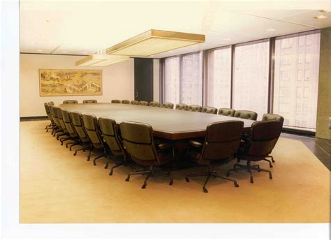 conference room table furniture custom made leather wrapped conference room table by r j