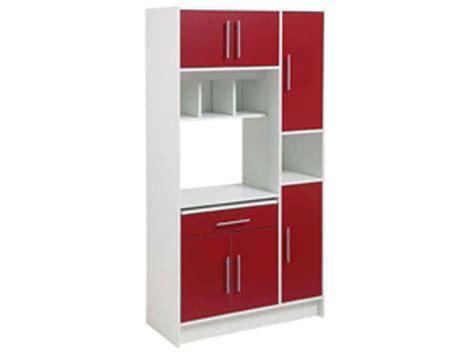 meuble cuisine pour four et micro onde meuble micro ondes 6 portes 1 tiroir amazone conforama