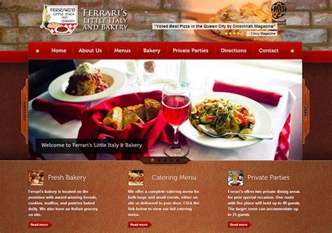 Ferraris Cincinnati by S Italian Restaurant Radiant Web Design